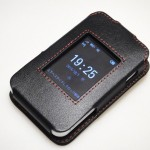 UQ WiMAX HWD15用レザーケース