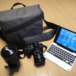 [Photo] 新調レンズも入るカメラバッグを自宅内で発掘♪ … ロープロ イベントメッセンジャー150