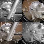 [CC110] カスタマイズ … 前後ブレーキアームを強化タイプに交換