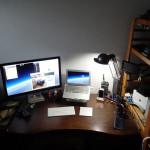 [Mac] パソコン机周りの模様替え