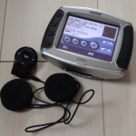 ヘルメット用Bluetoothスピーカー