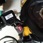 [CC110] カスタマイズ … グリップヒーター装着