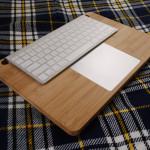 [Mac] 外付けキーボード&トラックパッドの一体化トレー