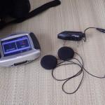 ヘルメット用Bluetoothレシーバー&スピーカーを交換